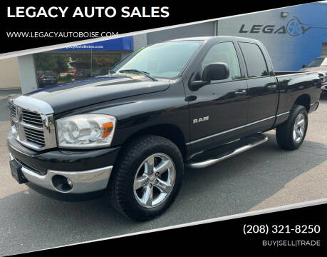 2008 Dodge Ram Pickup 1500 for sale at LEGACY AUTO SALES in Boise ID