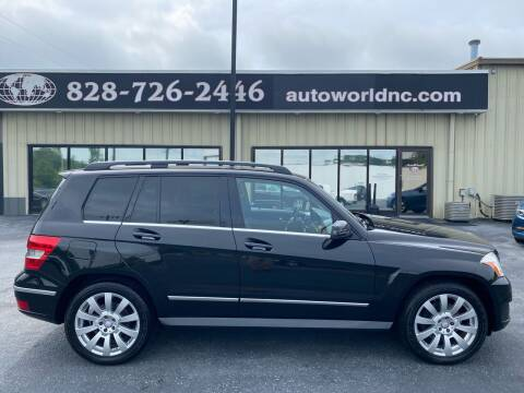 2010 Mercedes-Benz GLK for sale at AutoWorld of Lenoir in Lenoir NC