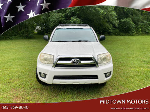 2007 Toyota 4Runner for sale at Midtown Motors in Greenbrier TN