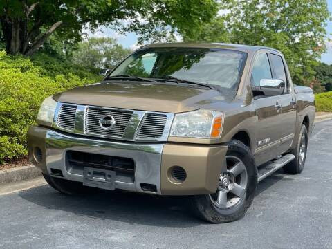 2005 Nissan Titan for sale at William D Auto Sales in Norcross GA