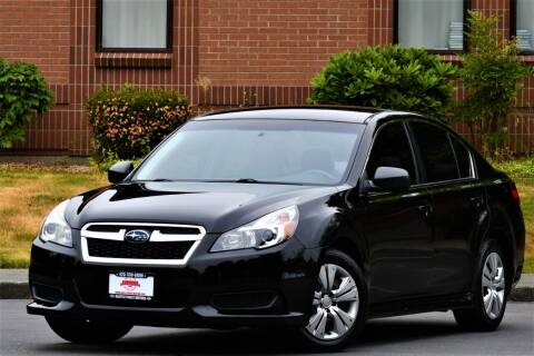 2013 Subaru Legacy for sale at SEATTLE FINEST MOTORS in Lynnwood WA