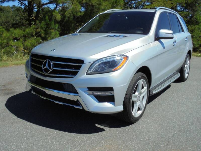 2015 Mercedes-Benz M-Class for sale at TURN KEY OF CHARLOTTE in Mint Hill NC