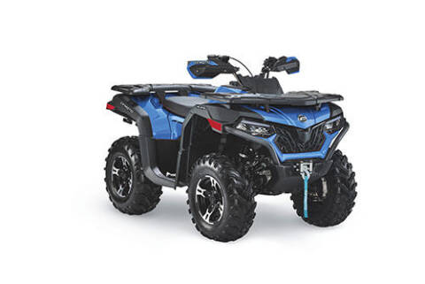 2021 CF Moto c600 blue for sale at Power Edge Motorsports- Millers Economy Auto in Redmond OR