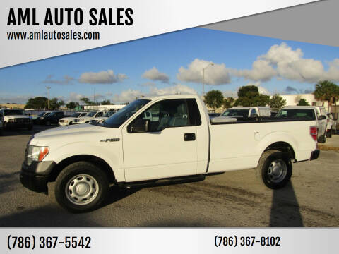 2012 Ford F-150 for sale at AML AUTO SALES - Pick-up Trucks in Opa-Locka FL