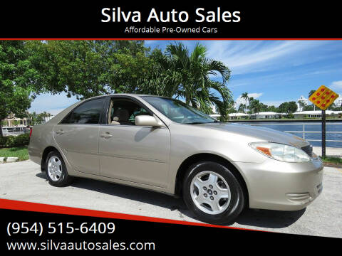 2003 Toyota Camry for sale at Silva Auto Sales in Pompano Beach FL