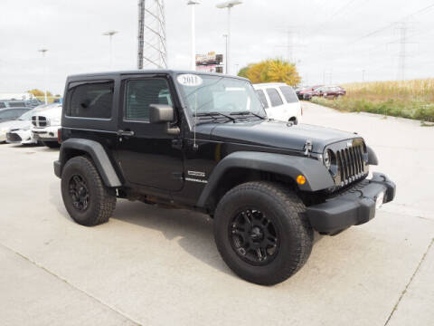 2011 Jeep Wrangler for sale at SIMOTES MOTORS in Minooka IL