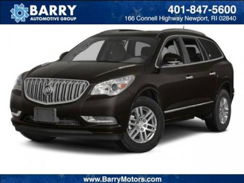 2014 Buick Enclave for sale at BARRYS Auto Group Inc in Newport RI