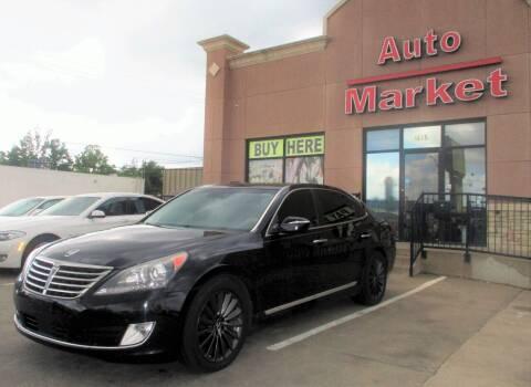 2014 Hyundai Equus for sale at Auto Market in Oklahoma City OK
