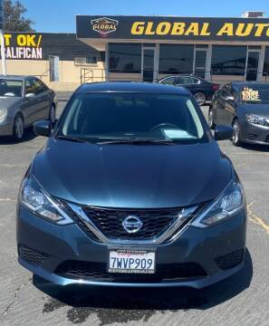 2017 Nissan Sentra for sale at Global Auto Group in Fontana CA