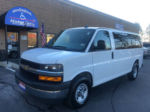2020 Chevrolet Express Passenger for sale at CJ Clark's New England Motor Car Company in Hudson NH