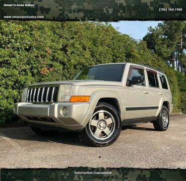 2008 Jeep Commander for sale at Omar's Auto Sales in Martinez GA