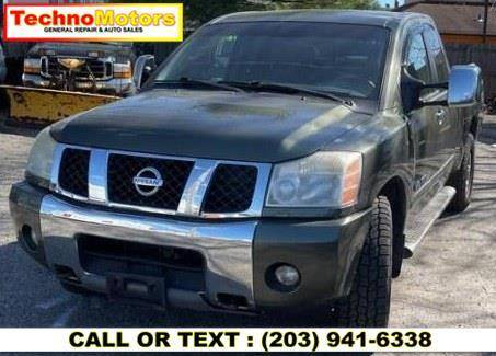2005 Nissan Titan for sale at Techno Motors in Danbury CT