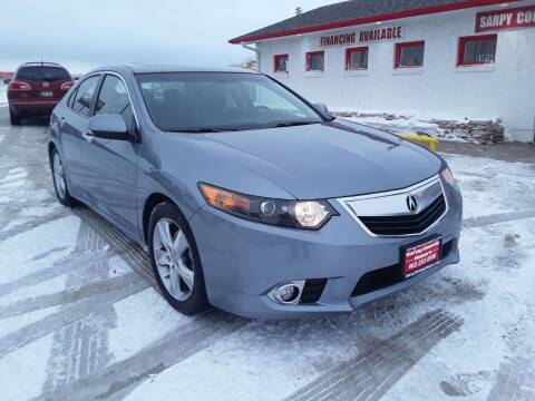 2011 Acura TSX for sale at Sarpy County Motors in Springfield NE