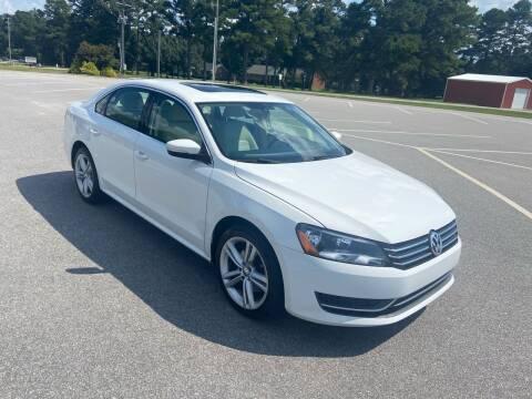 2014 Volkswagen Passat for sale at Carprime Outlet LLC in Angier NC