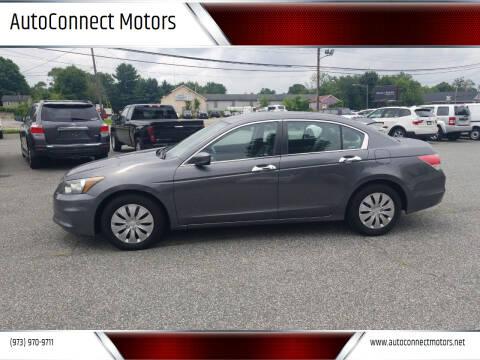 2012 Honda Accord for sale at AutoConnect Motors in Kenvil NJ