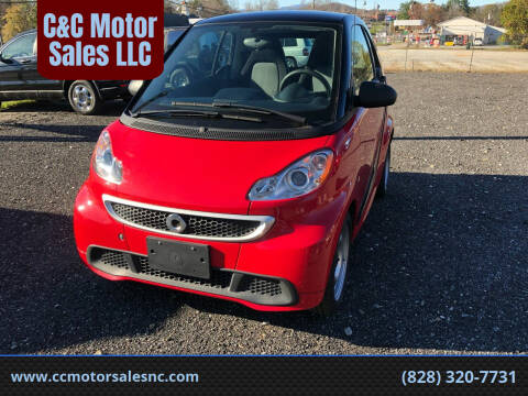 2015 Smart fortwo for sale at C&C Motor Sales LLC in Hudson NC
