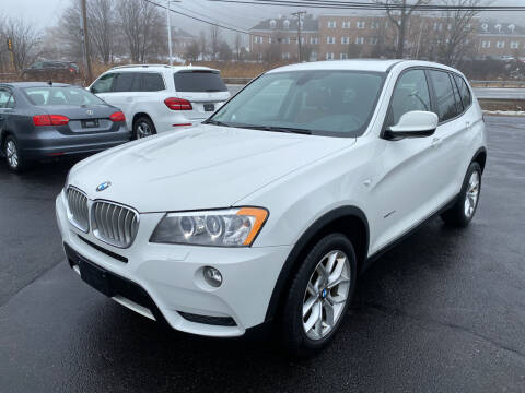 2014 BMW X3 for sale at Turnpike Automotive in North Andover MA