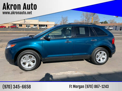 2011 Ford Edge for sale at Akron Auto - Fort Morgan in Fort Morgan CO
