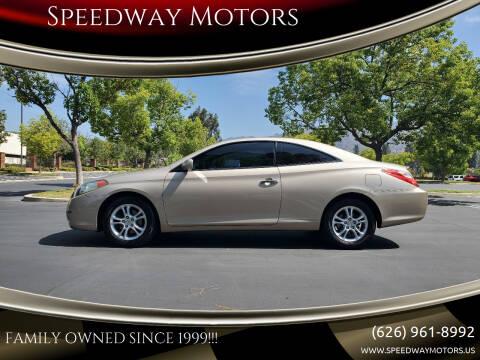 2005 Toyota Camry Solara for sale at Speedway Motors in Glendora CA