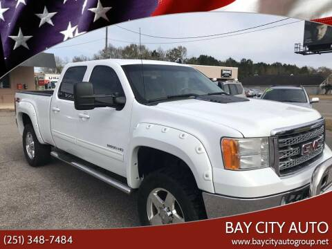 2011 GMC Sierra 2500HD for sale at Bay City Auto's in Mobile AL