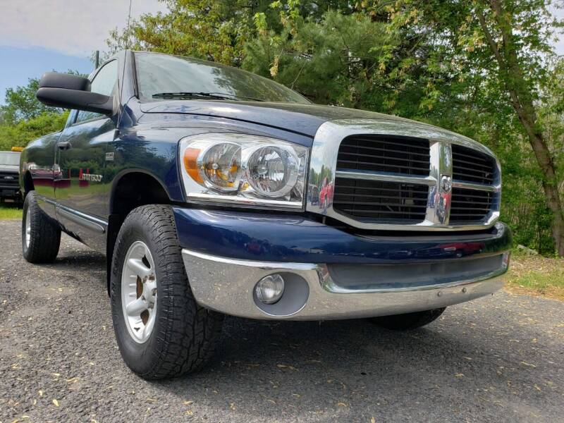 2007 Dodge Ram Pickup 1500 for sale at Jacob's Auto Sales Inc in West Bridgewater MA