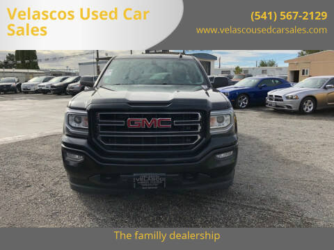 2018 GMC Sierra 1500 for sale at Velascos Used Car Sales in Hermiston OR