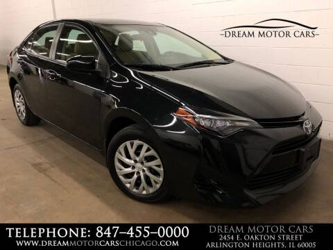 2017 Toyota Corolla for sale at Dream Motor Cars in Arlington Heights IL