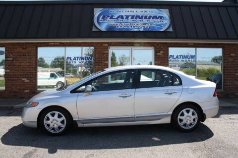 2008 Honda Civic for sale at Platinum Auto World in Fredericksburg VA
