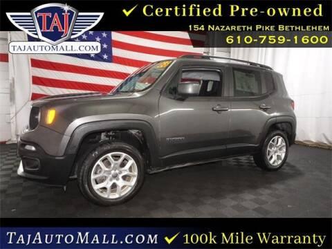 2018 Jeep Renegade for sale at Taj Auto Mall in Bethlehem PA