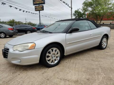 2005 Chrysler Sebring for sale at AI MOTORS LLC in Killeen TX