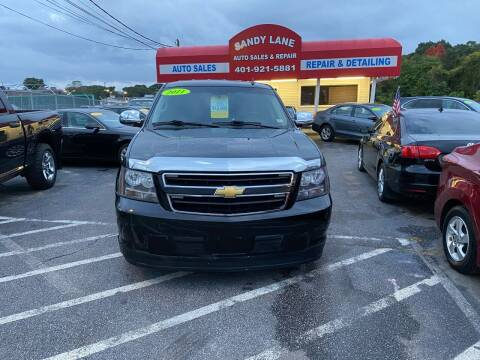 2011 Chevrolet Tahoe Hybrid for sale at Sandy Lane Auto Sales and Repair in Warwick RI