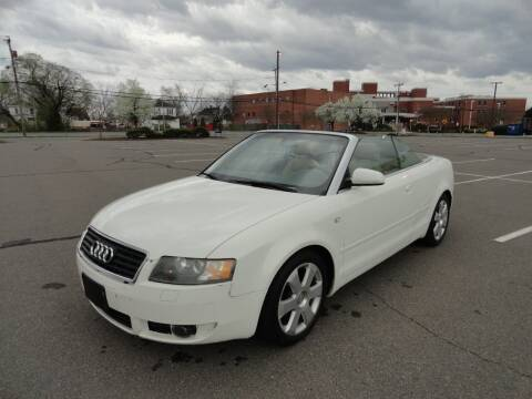 2005 Audi A4 for sale at TJ Auto Sales LLC in Fredericksburg VA