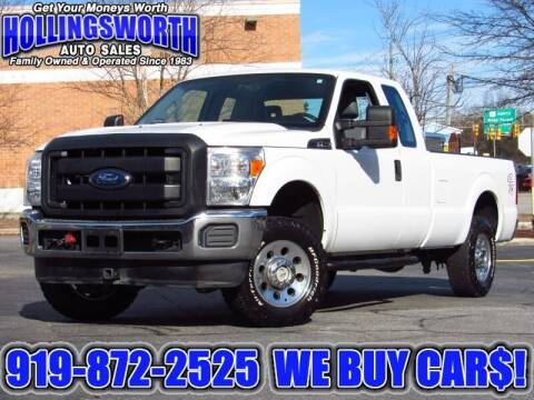 2016 Ford F-250 Super Duty for sale at Hollingsworth Auto Sales in Raleigh NC