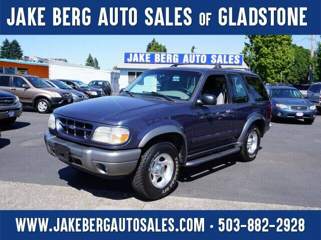 2000 Ford Explorer for sale at Jake Berg Auto Sales in Gladstone OR