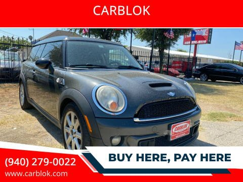 2011 MINI Cooper Clubman for sale at CARBLOK in Lewisville TX