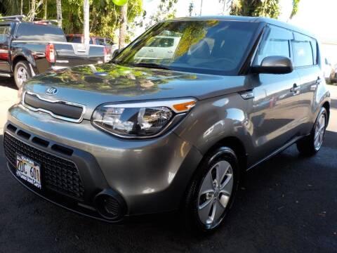 2015 Kia Soul for sale at PONO'S USED CARS in Hilo HI
