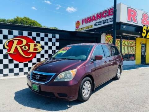 2008 Honda Odyssey for sale at www.rnbfinance.com in Dallas TX