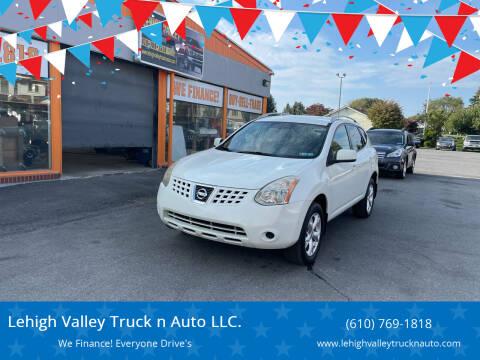 2009 Nissan Rogue for sale at Lehigh Valley Truck n Auto LLC. in Schnecksville PA