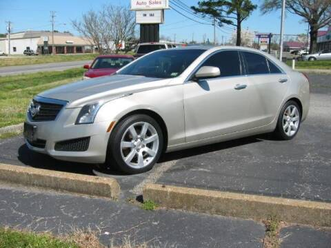 2013 Cadillac ATS for sale at HL McGeorge Auto Sales Inc in Tappahannock VA