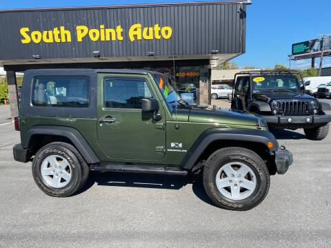 2007 Jeep Wrangler for sale at South Point Auto Plaza, Inc. in Albany NY