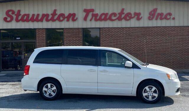 2012 Dodge Grand Caravan for sale at STAUNTON TRACTOR INC in Staunton VA