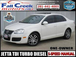 2006 Volkswagen Jetta for sale at Fall Creek Motor Cars in Humble TX