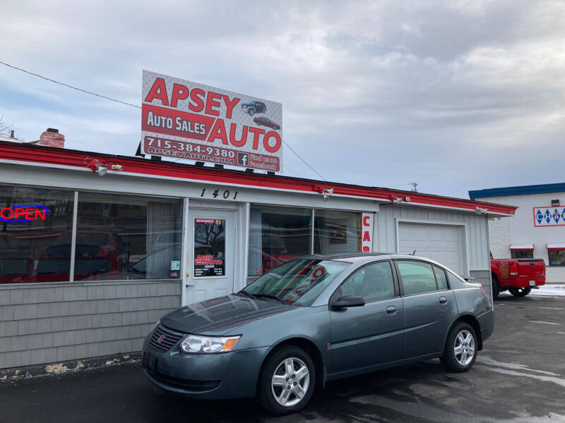 2007 Saturn Ion for sale at Apsey Auto in Marshfield WI