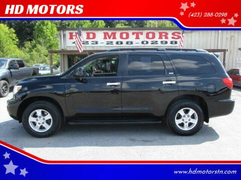 2013 Toyota Sequoia for sale at HD MOTORS in Kingsport TN