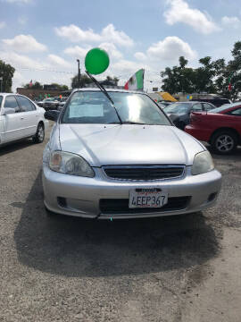1999 Honda Civic for sale at Premier Auto Sales in Modesto CA