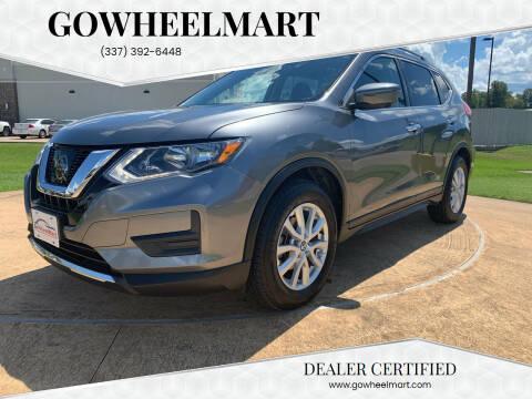 2017 Nissan Rogue for sale at GOWHEELMART in Leesville LA