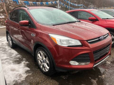 2016 Ford Escape for sale at Matt Jones Preowned Auto in Wheeling WV