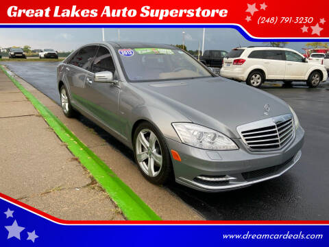 2012 Mercedes-Benz S-Class for sale at Great Lakes Auto Superstore in Waterford Township MI