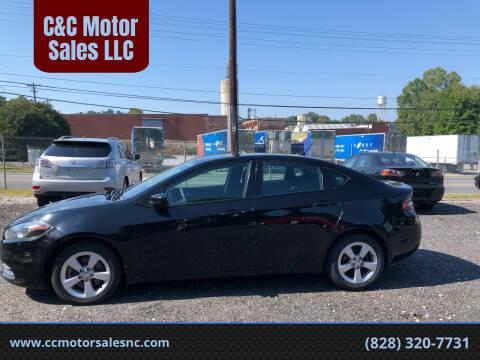 2015 Dodge Dart for sale at C&C Motor Sales LLC in Hudson NC