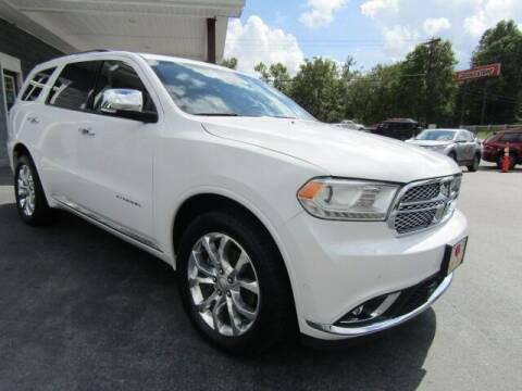 2018 Dodge Durango for sale at Specialty Car Company in North Wilkesboro NC